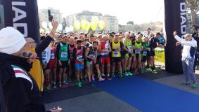 Partenza della Mezza Maratona di Scandicci