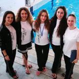 Gruppo Juniores Futura con allenatrice Trefilova