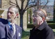 Maurizio Francini e il Cardinale Betori