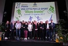 Una citta per lo sport - Premio Aramini (fonte foto comunicato stampa
