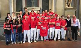 Presentazione della Fiorentina Baseball in Palazzo Vecchio