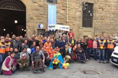I tassisti fiorentini alla 'Giornata della buona azione'