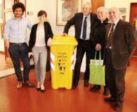 Empoli - Raccolta indumenti usati conferenza con sindaco Brenda Barnini Fabio Barsottini