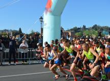 Partenza della Half Marathon Firenze Vivicittà