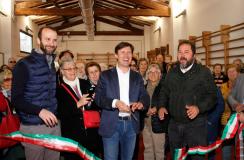 Inaugurazione della palestra di via Cocchi ristrutturata