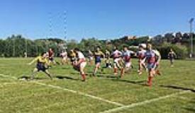 Rugby Firenze.Foto Franco Cervellati