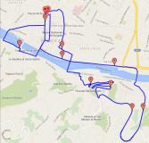 Il percorso della Guarda Firenze