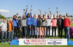 Premiazione Firenze Atletica Multistars