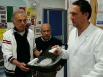 Donata una sonda per ecografo Avis di Vinci alla pediatria di Empoli