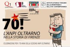Cartolina per i 70 anni dell'ANPI Oltrarno