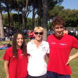 Ghidini Michelini e Deplano dell'Esseci Nuoto agli Europei junior