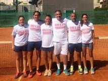Serie B femminile del Tc Bisenzio (fonte foto comunicato stampa)