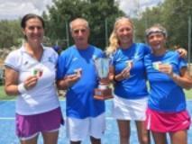foto da sinistra Francesca Ciardi, cap. Fabrizio Banci, Giovanna Tortorella e Giulia Collodel