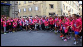 Partenza di Corri la Vita 2015 foto Antonello Serino