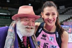 Patron Wanny Di Filippo e Valentina Tirozzi (foto Antonello Serino - Met)