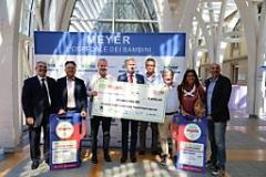 Donati 5mila euro alla Fondazione dell'Ospedale Pediatrico Meyer di Firenze