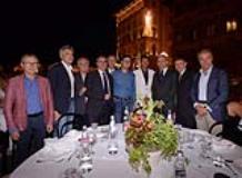 Oltre 800 persone a Cena in Piazza Ognissanti per l'A.T.T. (Fonte foto comunicato ATT)
