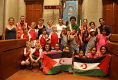 Bambini dal Saharawi e dalla Bielorussia ospiti in Comune a Empoli