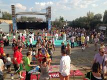 Una precedente edizione della Festa del volontariato sancascianese