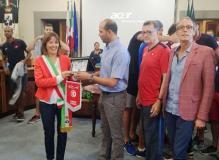 La nazionale tunisina di pallavolo in Comune a Fucecchio