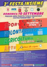Locadina Festa Insieme a Castelfiorentino