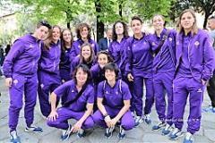 La Fiorentina Women's Fc presenta la stagione 2017/2018 (archivio foto Antonello Serino Met)