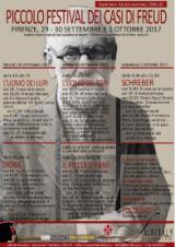 Manifesto del Piccolo festival dei casi di Freud