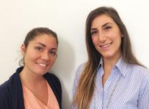 Annalisa Saviozzi e Sara Fratini