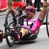 Christian Giagnoni  campione Italia di hand-bike