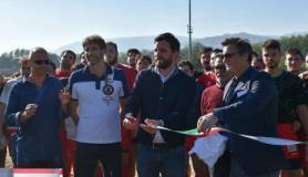 Inaugurazione nuovo campo di Pistoia Ovest A
