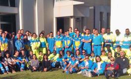 I giovani del servizio civile delle Misericordia di Prato