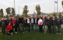 Inaugurazione campo di calcio dell'Anconella