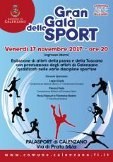 Locandina Gran Gala dello Sport a Calenzano
