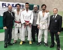 Nella foto Giuseppe Broccolo-Alessio Macrì-Lorenzo Malirder- Giuseppe Macrì-Andrea Macrì-Federico Ramundo
