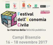 Depliant del Festival dell'Economia Civile