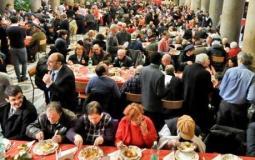 Il pranzo di Natale della Comunità di Sant'Egidio