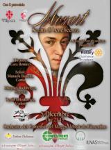 Manifesto per la serata di beneficenza Mozart