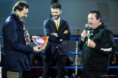 Il sindaco di Prato e l'assessore allo sport sul ring di Montemurlo