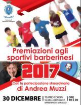 Manifesto premiazione Sport di Barberino di Mugello
