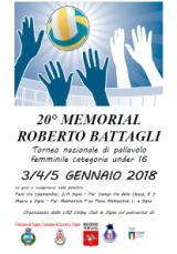 Manifesto del Trofeo Battagli
