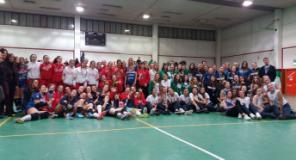 Foto di gruppo al Trofeo Memorial Roberto Battagli