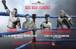Boxe Night Florence, al Mandela Forum (fonte foto sito Mandela)