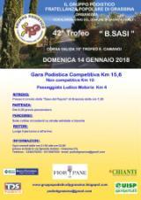 42° Trofeo B. Sasi, domenica 14 gennaio