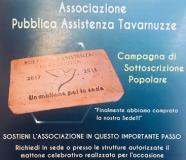 La locandina della sottoscrizione popolare per la sede della PA di Tavarnuzze