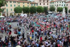 manifestazione in piazza