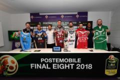 PosteMobile Final Eight 2018 conferenza 12 febbraio 2018