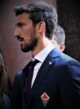 Capitano della ACF Fiorentina Davide Astori (foto Antonello Serino - Redazione di Met)