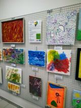 inaugurazione Artabilmente_mostra quadri Aquilone nello spazio soci Unicoop marzo