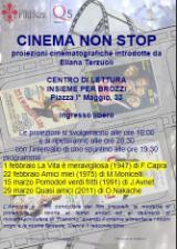 Volantino 'Cinema non stop' a Brozzi