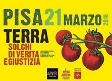 Immagine dal depliant della manifestazione del 21 marzo 2018 a Pisa contro le mafie